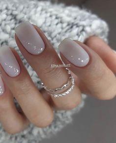 Square Nail Designs, Nail Art Designs, Nails Design, Design Art, Neutral Nail Designs, Design Ideas, Stylish Nails, Trendy Nails, Classy Nails