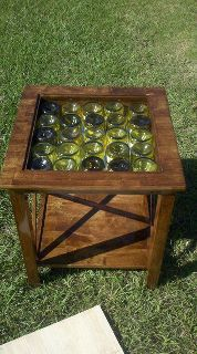 Cool cellar side tables, or for the bar