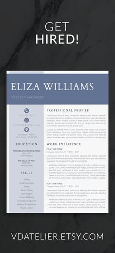 resume template for modern professionals prepared to help you get hired resume - Best Modern Resume