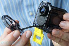 Sony's tiny ruggedized Action Cam