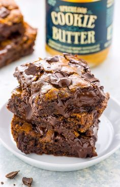 A Dozen Delectable Things to Do With Trader Joe's Cookie Butter Vegan Cake vegan cake at trader joe's Speculoos Cookie Butter, Butter Cookies Recipe, No Bake Cookies, Trader Joe's Cookie Butter, Butter Pie, No Bake Desserts, Just Desserts, Delicious Desserts, Dessert Recipes