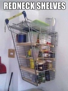 Some people put row boats or sail boats on their walls to use for shelves, can' someone do this without being a RedNeck? Topo Gigio wants to know. Who wants to compete with this photo or my comment? Do write.