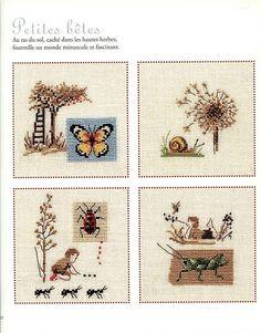 Veronique Enginger ''Souvenirs d'enfance au point de croix''