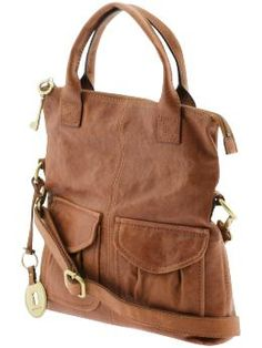 A fossil purse// Fossil Modern Cargo Convertible Tote Burberry Handbags, Louis Vuitton Handbags, Purses And Handbags, Fossil Handbags, Fossil Bags, Fossil Purses, Handbag Stores, Cute Bags, Beautiful Bags