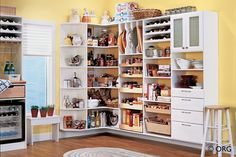 Pantry Organizers & Organization Systems | Sierra Nevada Cabinets & Closets - Sparks, Reno, Tahoe & Surronding Area's