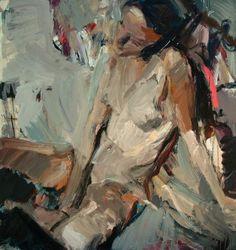figure painting | Figures by Vladimir Semenskiy, via Behance