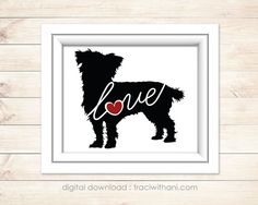 INSTANT DOWNLOAD: Cairn Terrier  Silhouette by TraciWithaniDesigns