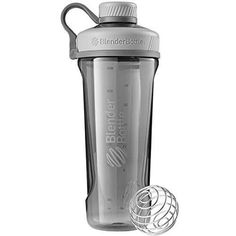 BlenderBottleRadian Tritan Shaker Bottle Pebble Grey 32-Ounce