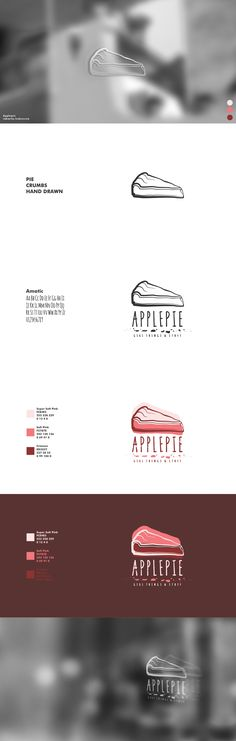 Applepie - Visual Identity #visual #identity #visualidentity #logo #graphic #design #graphicdesign #digitalart #presentation #portfolio