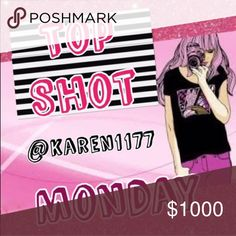 2/13 🌷 Monday 🌷 Sign Up ⭐️Please Share 5 Tops, Shirts, Blouses etc...From everybody in the list ⭐️ Sign up closes at 5pm est. ‼️ Please Sign out by 12AM your Time!‼️ If you can't finish please communicate with me, I understand anything can happen. ⭐️ Thank you⭐️ Other