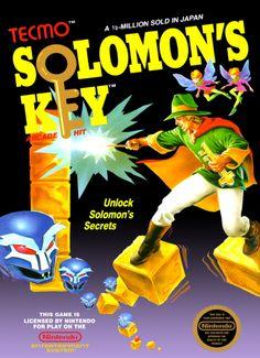 SOLOMON'S KEY - NES