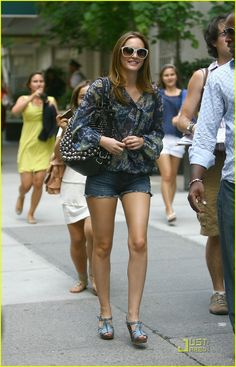 Leighton Meester Street-Style | Pizza E Guaraná'