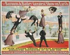 The Barnum & Bailey greatest show on earth : L'Institut de divertissement le plus grand et le plus magnifique du monde. | Flickr - Photo Sharing!