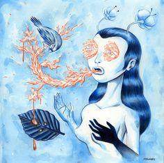 Charles Glaubtiz, lowbrow art, pop surrealism