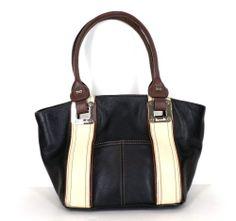 Tignanello Borwn Leather Handbag