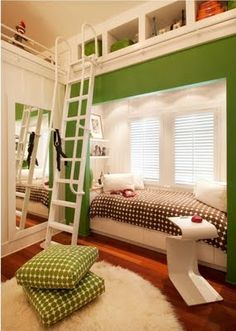 Home Design and Interior Design Gallery of Extraordinary Alcove Bed Kids Room Bunk Beds Boys, Kid Beds, Loft Beds, Loft Bedrooms, Girl Room, Girls Bedroom, Bedroom Decor, Bedroom Ideas, Bedroom Designs