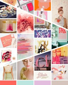 inspiration board by megan of hitch design studio for the life styled