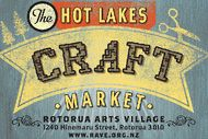 The Hot Lakes Craft Market is held on the 2nd Sunday of the month at the Rotorua Arts Village