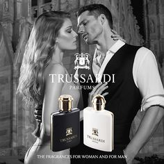 Love is like a poker game: a good hand can change one's life forever. Because it's not over. Not yet. #TrussardiParfums #Trussardi