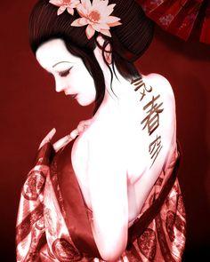 Hermosas Geishas