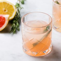Spring Forward! A Rosemary-Infused Vodka Cocktail for Spring | Epicurious.com