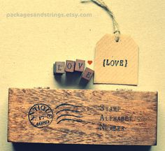 stamps etsy.com +Packages and Strings+