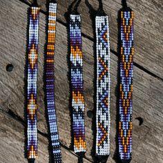 Bead Loom Friendship Bracelet Collection 19 by MichikoJewelry, $9.99
