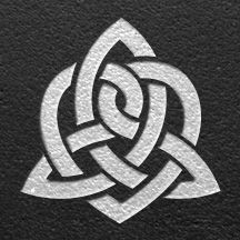 """The Celtic knot symbolizing """"Sisters"""" or """"Sisterhood."""" Would be a cool idea for a matching tattoo with my sister. (: might be kinda cute on the back of my neck"""