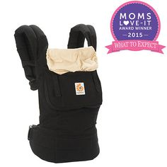 6b701cb499c9 The Ergobaby Original Collection Baby Carrier in the Black Camel style is  designed to hold your baby in an ergonomic, natural sitting position.