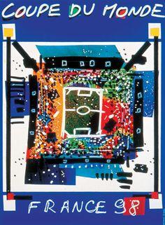 Anthology of Football posters | Mondiali 1998, Francia