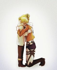 Annie Leonhart i wanna hate you,, god i wanna hate you,, but i love you,, stupid skinless bitch of a titanshifter