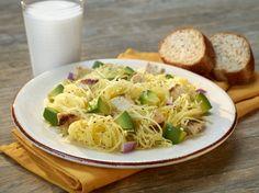 Avocado, Chicken and Spaghetti Squash Melange