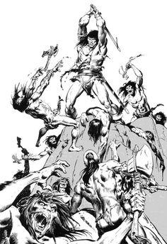 Barbarian by John Buscema