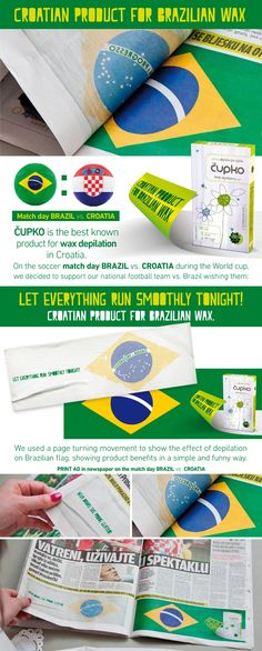 Cupko: Croatian product for Brazilian wax