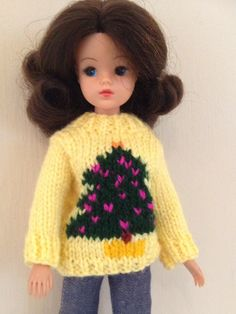 Christmas jumper for Sindy