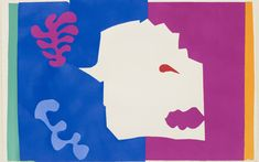 "Henri Matisse (French, 1869–1954). *The Wolf (Le Loup)* from *Jazz*. 1947. One from a portfolio of twenty pochoirs, composition (irreg.): 16 1/2 × 24 15/16"" (41.9 × 63.4 cm); sheet: 16 5/8 × 25 11/16"" (42.3 × 65.3 cm). Gift of the artist. © 2014 Succession H. Matisse / Artists Rights Society (ARS), New York"