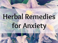10 Natural Remedies Against Anxiety