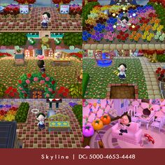 Dream Code ACNL cute town