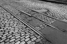 Georgetown Trolley Tracks by BersofskyPhotography on Etsy, $75.00