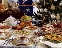 As in other parts of Eastern Europe, Polish Christmas is celebrated with a family feast on Christmas Eve. The whole family sits down to dinner together in Poland. Traditionally, 12 symbolic dishes are served in honor of the 12 apostles. Christmas has historically been a time for fortune-telling and superstition. Now Polish families may observe these old beliefs for fun and to remember past Christmases.