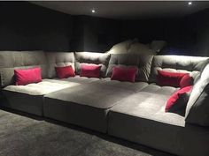 Home Theater Rooms Theatre Seating Diy Movie Room