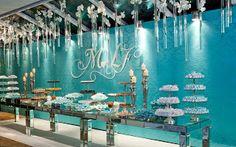 O MUNDO DOS EVENTOS - TOP: Inspiração TOP: Festa de 15 anos Azul Tiffany