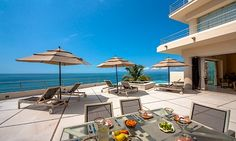 Villa Bahia is a spectacular contemporary designed villa located oceanfront approximately three miles from downtown Puerto Vallarta.