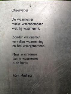 Observaties   Hans Andreus(1926-1977)