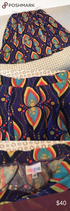 Lularoe Madison EUC Great Lularoe Madison in unicorn print. Size medium. Worn and washed to LLR standards (delicate, no dryer). No piling or wear. LuLaRoe Skirts