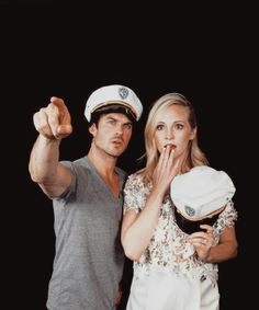 #TVD The Vampire Diaries Comic Con 2016 Ian Somerhalder(Damon) & Candice Accola(Caroline)