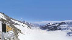Jungfraujoch. The Jungfrau Railway, which leads through the heart of the mountains and up to the highest train station in Europe (at 3,454 meters above sea level), offers unbelievable views of the mountain giants Eiger, Mönch and Jungfrau and of the longest river of ice in the Alps.
