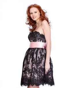 Black And Pink Dress | cutty.tk