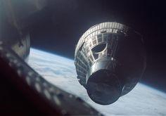 Remembering Project Gemini - The Atlantic Gemini 6A closes to within 35 feet of its sister capsule, Gemini 7, on December 15, 1965.