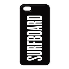 Pin for Later: Over 100 Cases For Every Kind of iPhone User Beyoncé Surfboard iPhone 5/5S Case Surfboard iPhone case ($20